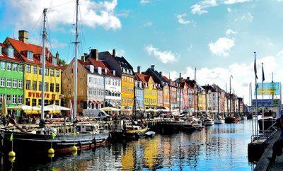 Город Копенгаген Дания