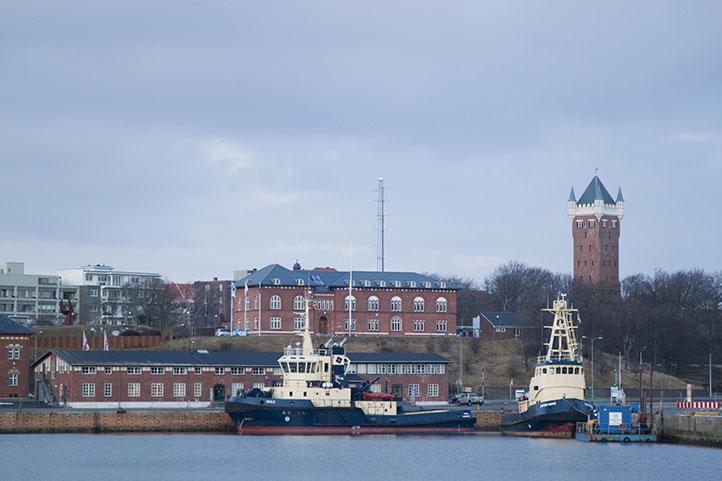 Город Эсбьерг, Дания