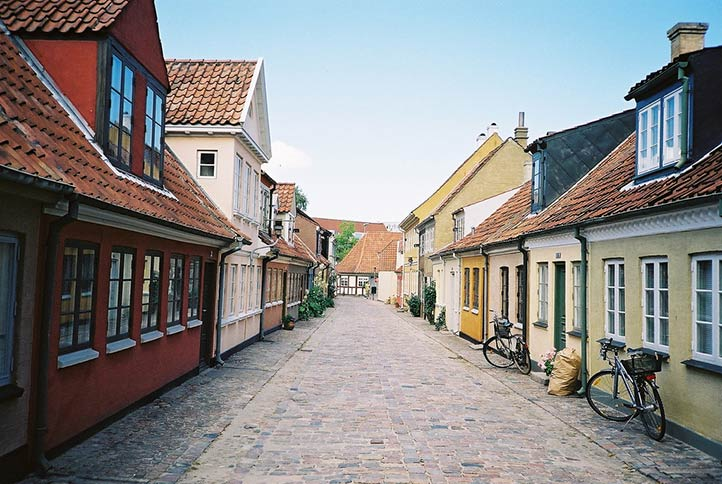 Город Оденсе, Дания