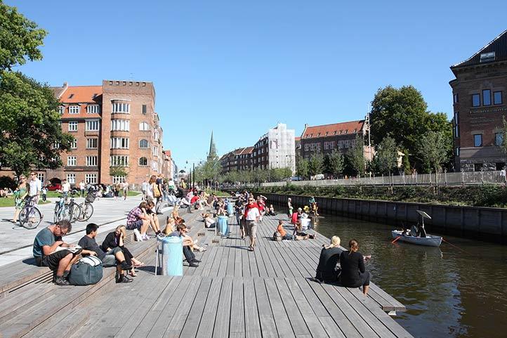Город Орхус, Дания